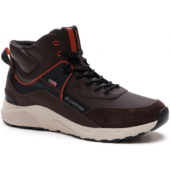 Lotto ULTRA AMF MID HD hnedá 9.5 - Pánska obuv