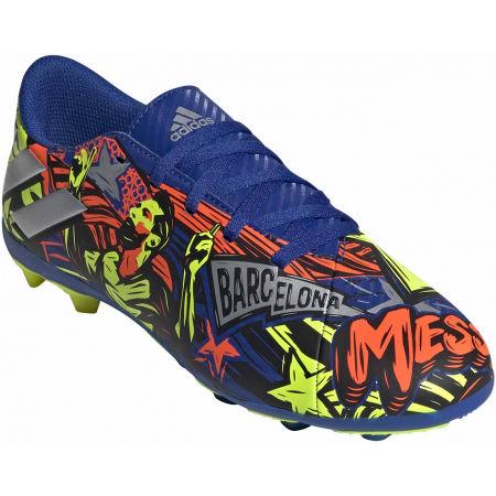 Детски футболни обувки - adidas NEMEZIZ MESSI 19.4 FXG J - 1