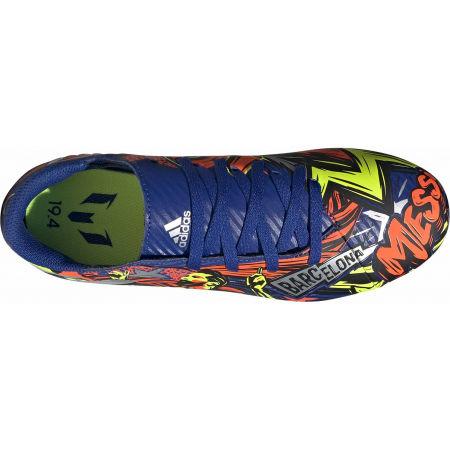 Детски футболни обувки - adidas NEMEZIZ MESSI 19.4 FXG J - 4