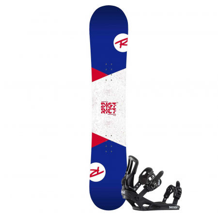Rossignol DISTRICT LTD + BATTLE M/L - Pánsky snowboardový set