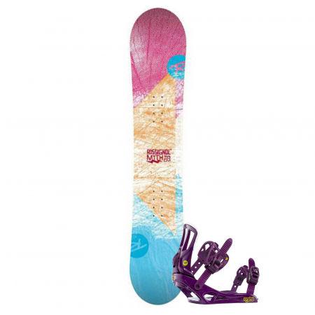 Women's snowboard set - Rossignol RO MYTH LDC+MYTH S/M SET SNB - 1