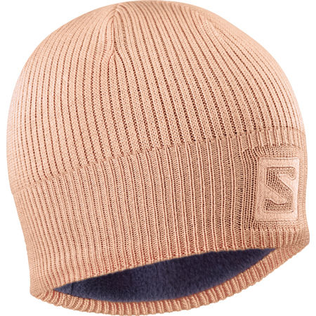 Salomon LOGO BEANIE CITRU - Winter hat