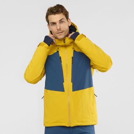 Men's ski jacket - Salomon HIGHLAND JACKET M - 2