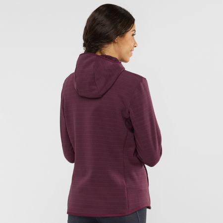 Women's sweatshirt - Salomon RADIANT HYBRID HOODIE W - 3