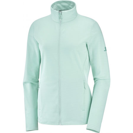 Salomon OUTRACK FULL ZIP W - Dámska mikina