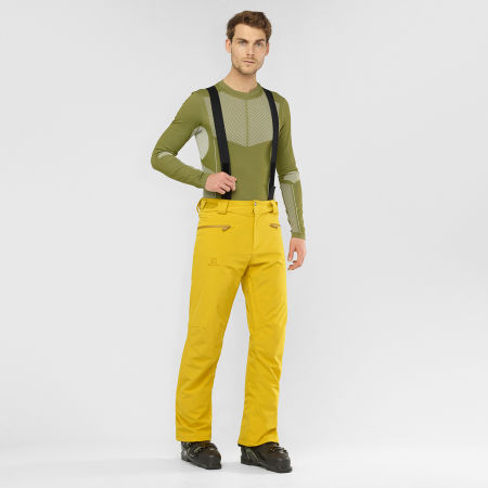 Men's ski pants - Salomon STANCE PANT M - 2