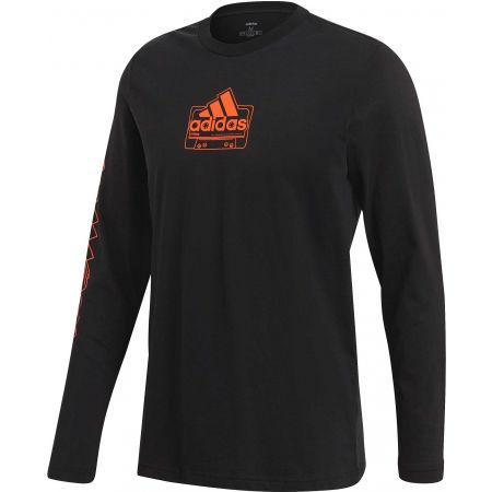 adidas CASSETTE TAPE LONGSLEEVE TEE - Pánske tričko