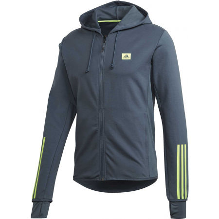 adidas DESIGNED TO MOVE HOODED TRACKTOP - Hanorac sport pentru bărbați