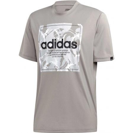 adidas CAMO BX T - Pánske tričko