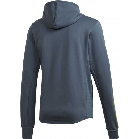 Herren Sweatshirt - adidas DESIGNED TO MOVE HOODED TRACKTOP - 2