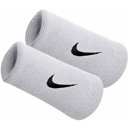 SWOOSH DOUBLEWIDE WRISTBAND - Manșetă transpirație - Nike SWOOSH DOUBLEWIDE WRISTBAND