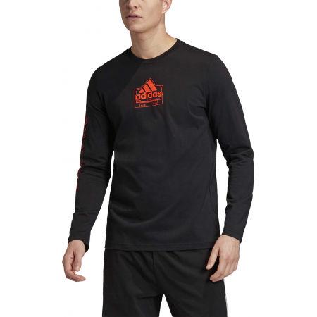 Herrenshirt - adidas CASSETTE TAPE LONGSLEEVE TEE - 3