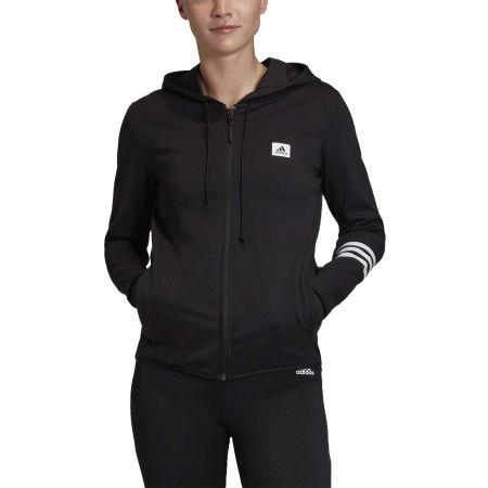 Women's sweatshirt - adidas DESIGNED TO MOVE MOTION FULLZIP HOODIE - 2