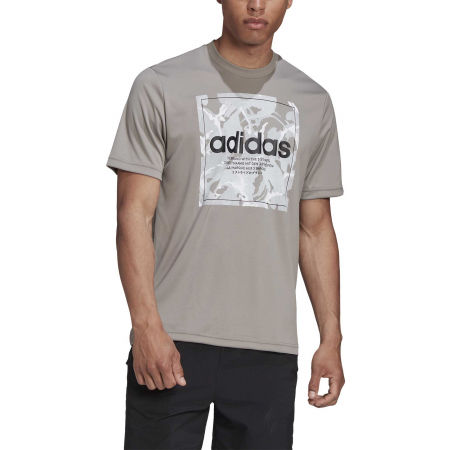 Pánske tričko - adidas CAMO BX T - 3