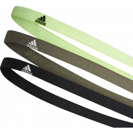 Čelenky - adidas 3PP HAIRBAND - 2