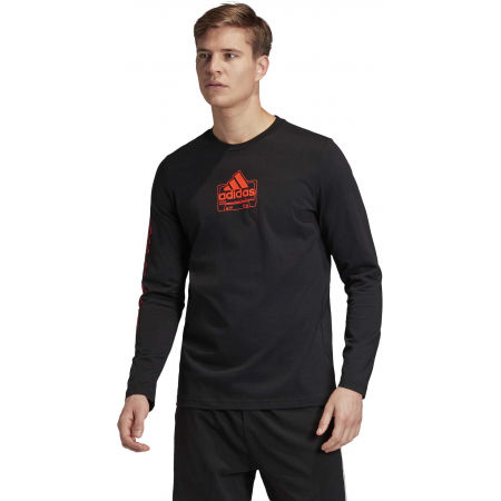 Herrenshirt - adidas CASSETTE TAPE LONGSLEEVE TEE - 4