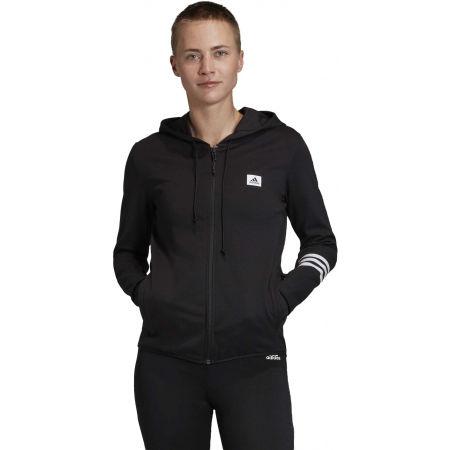 Women's sweatshirt - adidas DESIGNED TO MOVE MOTION FULLZIP HOODIE - 3