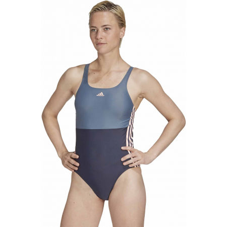 Damen Badeanzug - adidas SH3.RO COLORBLOCK 3S SWIMSUIT - 4