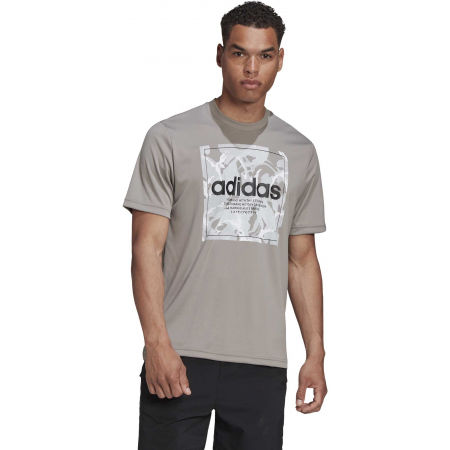 Pánske tričko - adidas CAMO BX T - 4