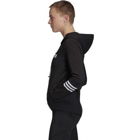 Women's sweatshirt - adidas DESIGNED TO MOVE MOTION FULLZIP HOODIE - 4