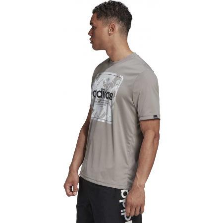 Pánske tričko - adidas CAMO BX T - 5