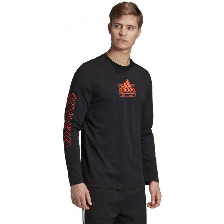 Herrenshirt - adidas CASSETTE TAPE LONGSLEEVE TEE - 6