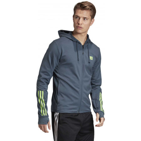 Herren Sweatshirt - adidas DESIGNED TO MOVE HOODED TRACKTOP - 6