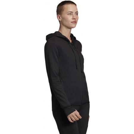 Women's sweatshirt - adidas DESIGNED TO MOVE MOTION FULLZIP HOODIE - 5