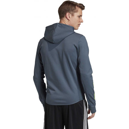 Herren Sweatshirt - adidas DESIGNED TO MOVE HOODED TRACKTOP - 7