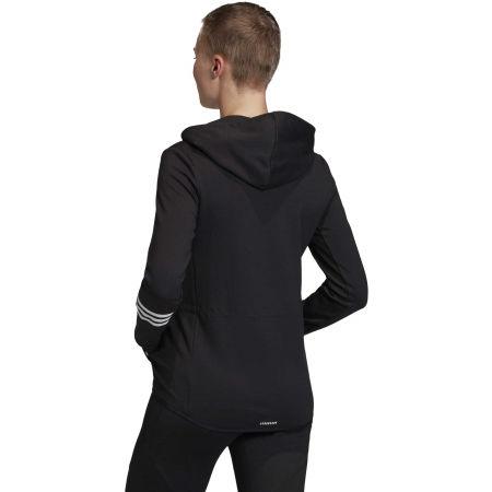 Women's sweatshirt - adidas DESIGNED TO MOVE MOTION FULLZIP HOODIE - 6