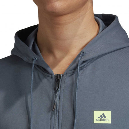 Herren Sweatshirt - adidas DESIGNED TO MOVE HOODED TRACKTOP - 8