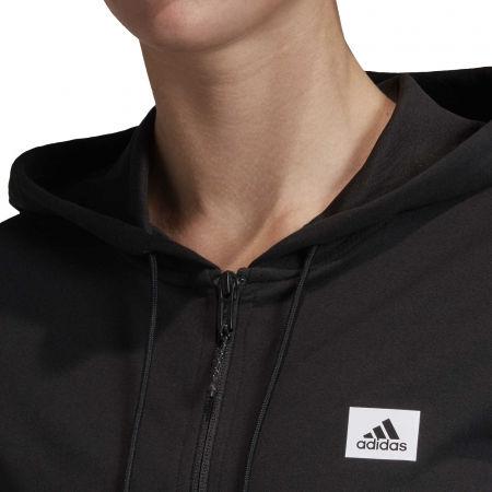 Women's sweatshirt - adidas DESIGNED TO MOVE MOTION FULLZIP HOODIE - 7