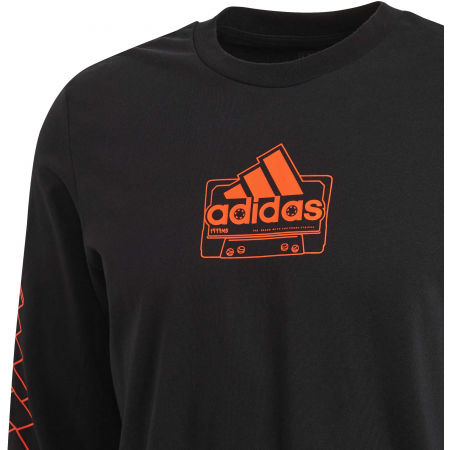 Herrenshirt - adidas CASSETTE TAPE LONGSLEEVE TEE - 12