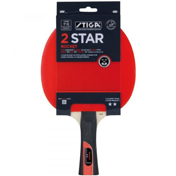 Stiga 2 STAR ROCKET - Pálka na stolný tenis