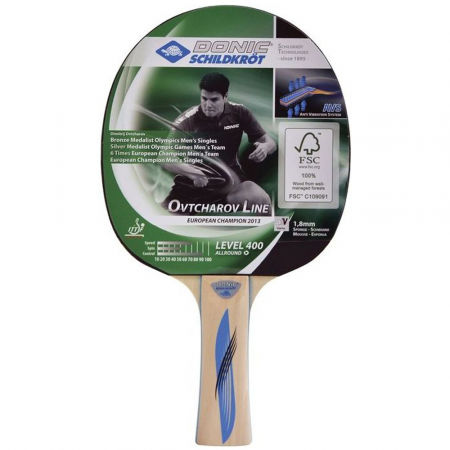 Donic OVTCHAROV 400 FSC - Table tennis racquet