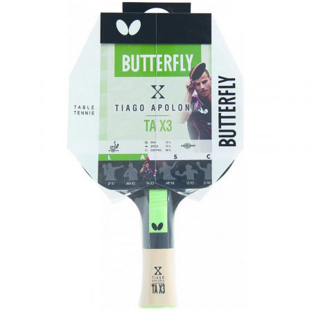 Butterfly TIAGO APOLONIA TAX3 - Table tennis bat