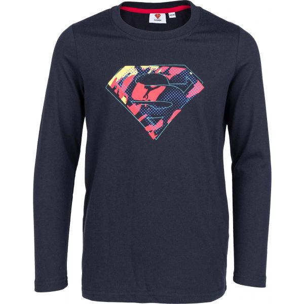 Warner Bros SILAS JNR SUPER tmavě modrá 140-146 - Chlapecké triko