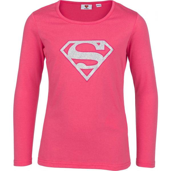 Warner Bros SILA SUPERGIRL  116-122 - Dívčí triko