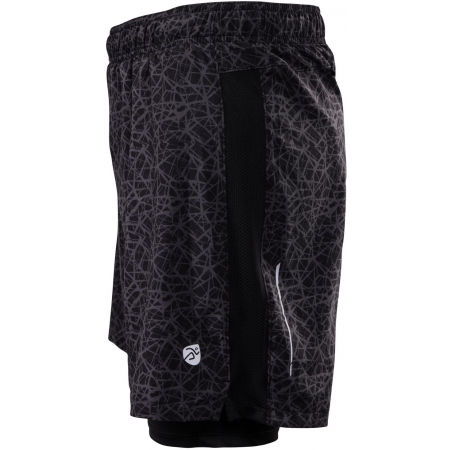 Men's running shorts 2in1 - Klimatex CORTEZ - 3