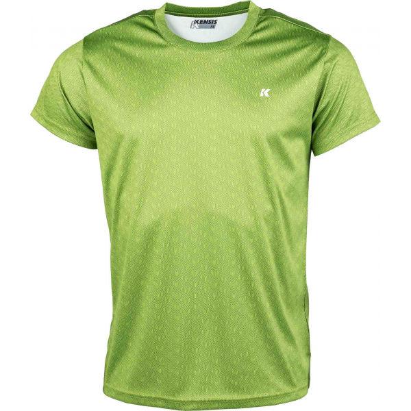 Kensis GOZO zelená M - Pánské sportovní triko