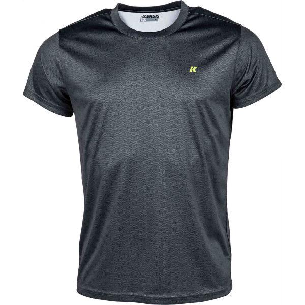Kensis GOZO černá XXL - Pánské sportovní triko
