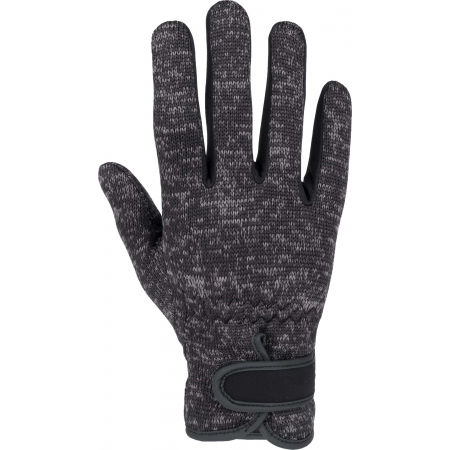 Women's knitted fleece gloves - Willard KETS - 1