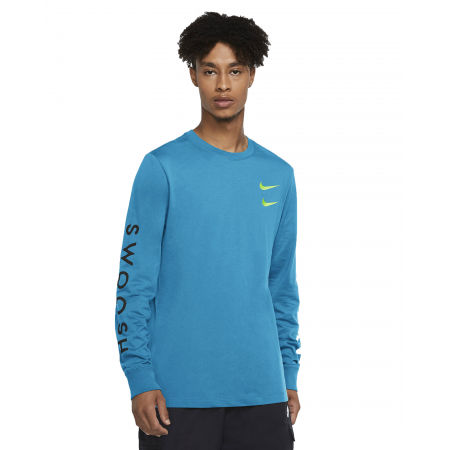 Pánské tričko - Nike NSW LS TEE SWOOSH PK M - 1