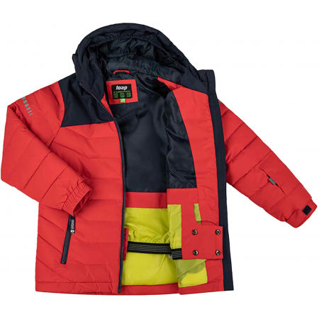 Boys' ski jacket - Loap FUZZY - 2