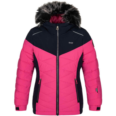 Children's ski jacket - Loap OKIE - 1