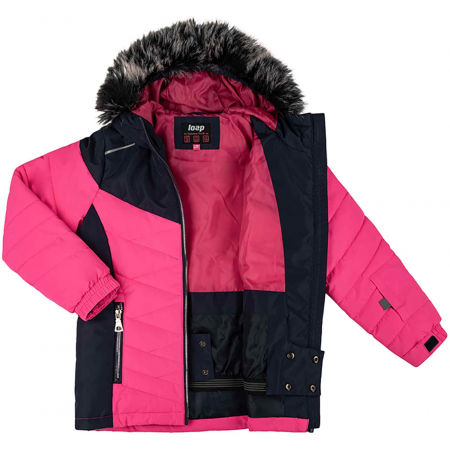 Children's ski jacket - Loap OKIE - 3