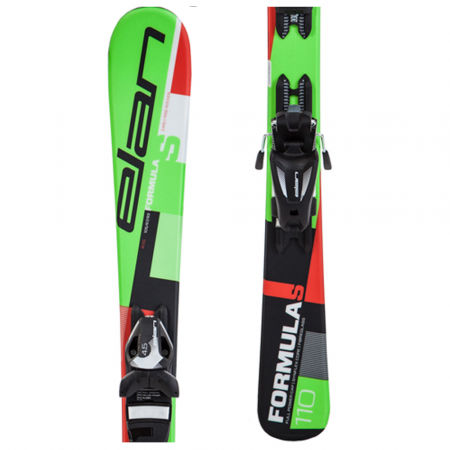 Children's downhill skis - Elan FORMULA S QS + EL 4.5 - 1