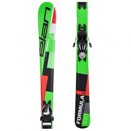 Children's downhill skis - Elan FORMULA S QS+EL 7.5 - 1