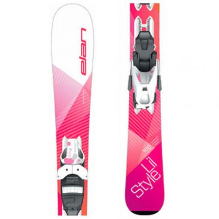 Elan LIL STYLE QS+EL 7.5 - Detské zjazdové lyže