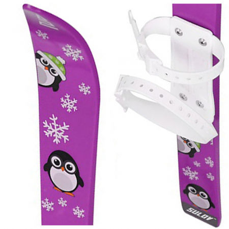 Children's ski set - Sulov CHILDREN'S SKIS - SET - 1